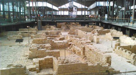 Jaciment al mercat del Born, Barcelona.