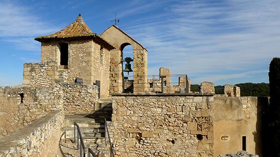 Castell de la Santa Creu a Calafell.