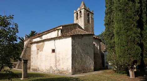 Església de Sant Llorenç de Gaserans.