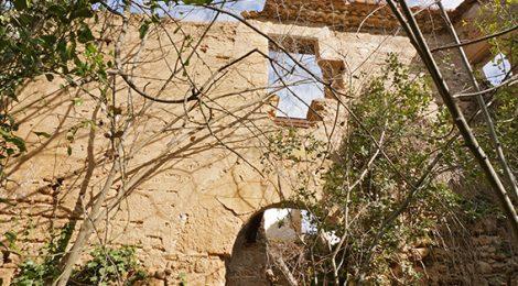 Ruïnes del Castell de Ribatallada a Sabadell.