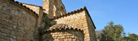 Ermita de Sant Cebrià de Cabanyes.