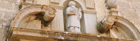Portalada del Santuari de Santa Quitèria a Vilanova del Vallès.