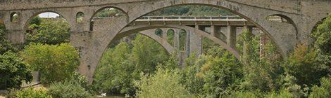 Els tres ponts de Céret.
