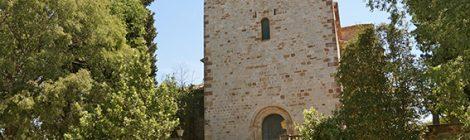Església de Santa Maria de Llerona.