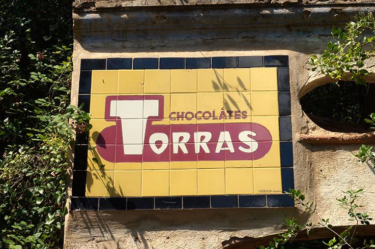 Anunci de Xocolates Torres, Santa Afra