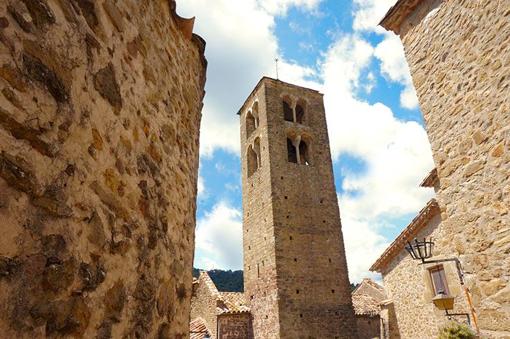 campanar de Sant Pere de Llorà