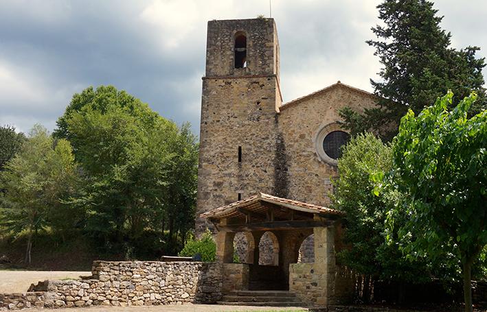 Església de Granollers de Rocacorba, Vall de Llémena