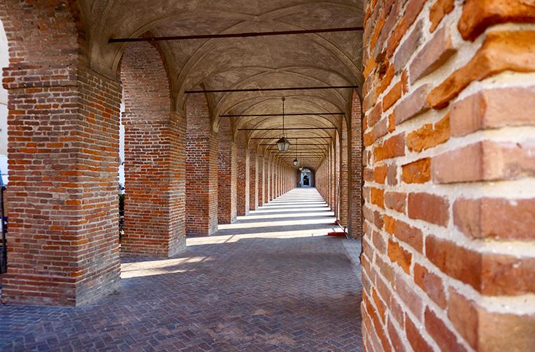 Galleria degli Antichi. Visita a Sabbioneta