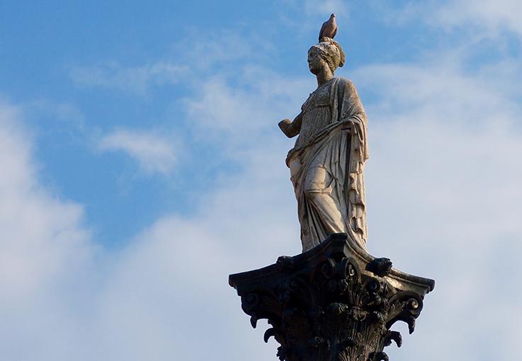 La Colonna di Minerva. Visita a Sabbioneta