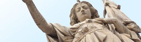Monument a la Bell'Italia a Brescia.