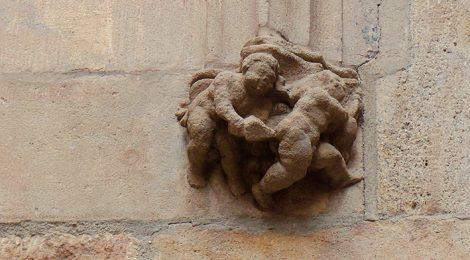 Mènsula eròtica al Palau del Lloctinent.