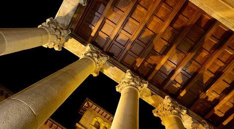 El temple romà de Vic.