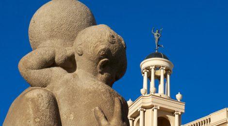 Templet amb Hermes a la Casa Pich i Pon.