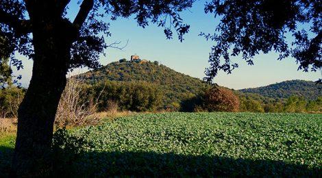 Turó de Sant Jordi a Maçanet de la Selva.