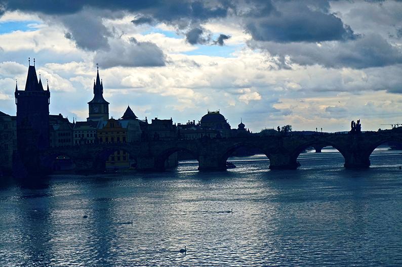 El Pont de Carles. Barri Malá Strana de Praga