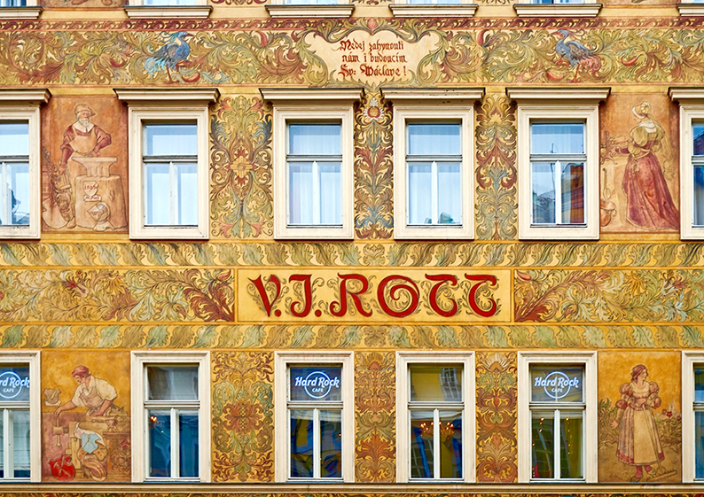 Casa Rott. Praga