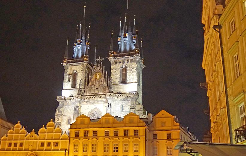 Església gòtica de Nostra Senyora de Tyn.