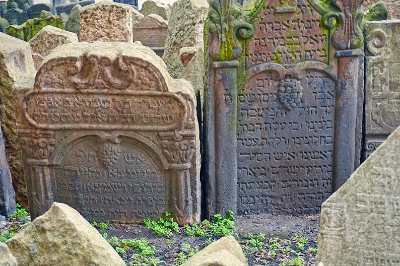 Cementiri jueu. Praga
