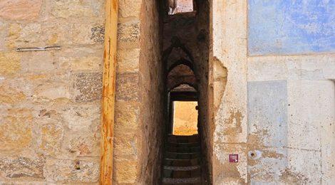 El carrer dels Jueus de Sarral.
