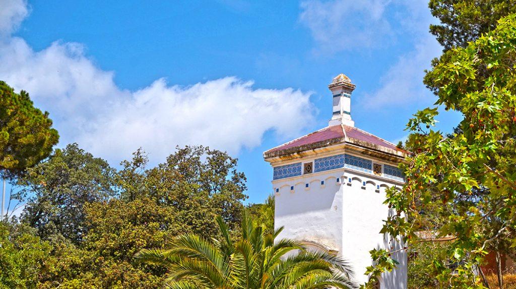 Parc del Santuari de la Misericòrdia a Canet de Mar.