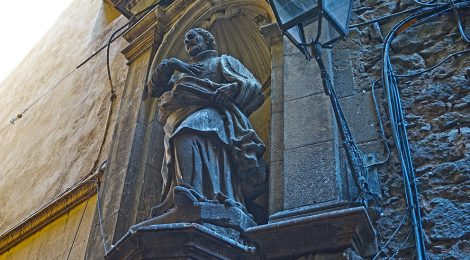 Sant Felip Neri. Carrer de la Palla 10. Barcelona