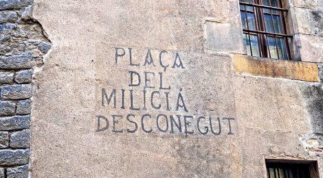 Plaça Sant Josep Oriol. Barcelona
