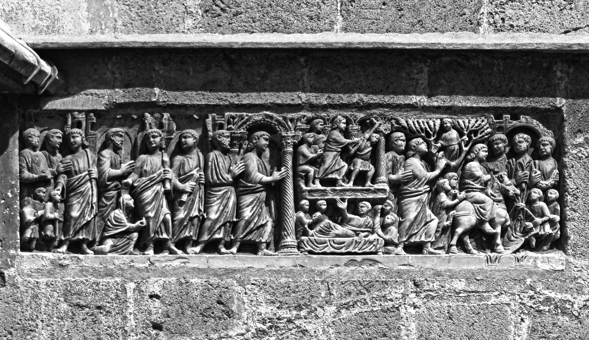 El sarcòfag de Bethesda de la Catedral de Tarragona