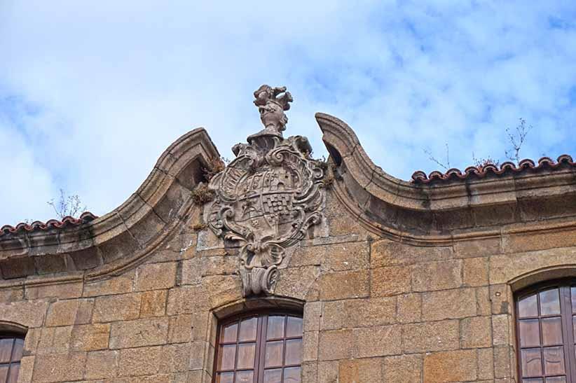Palau barroc de josé Cornide. Primer itinerari per A Coruña