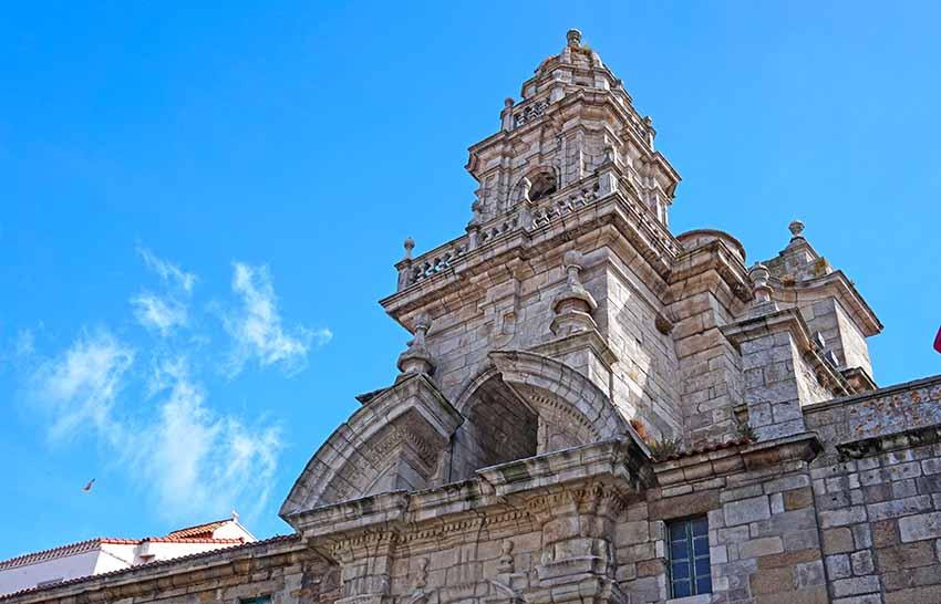Campanar del convent de Santo Domingo. Primer itinerari per A Coruña