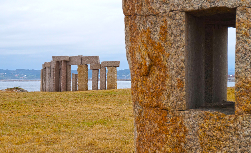 Monumento a los fusilados. Quart itinerari per A Coruña