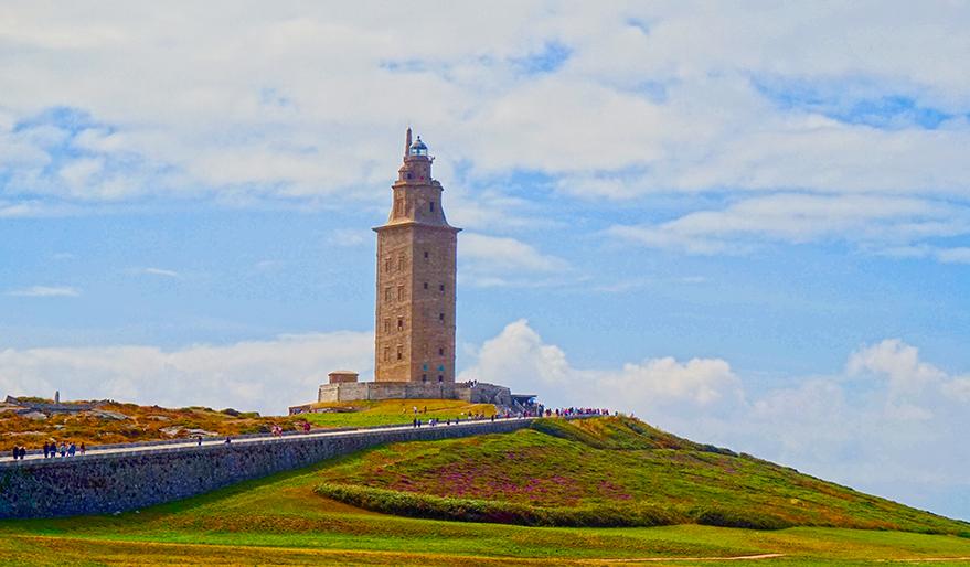 Panoràmica de la Torre de Hércules.