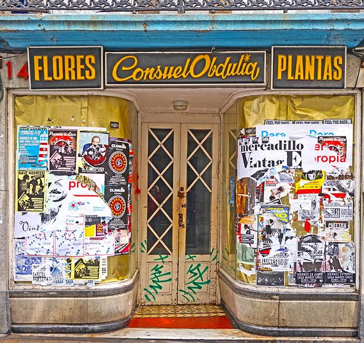 Antic comerç abandonat. Segon itinerari per A Coruña