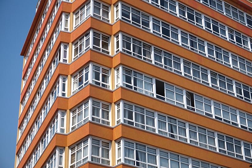 Bloc d'habitatges. Segon itinerari per A Coruña
