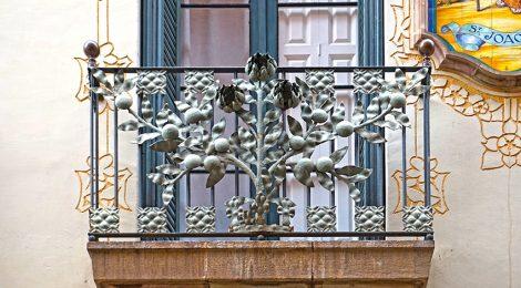 Casa Carreras. Passatge del Patriarca. carrer Montsió. Barcelona