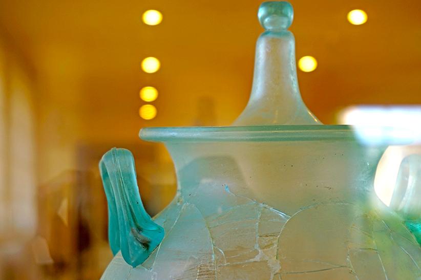Recipient de vidre. Museu Arqueològic Tarragona