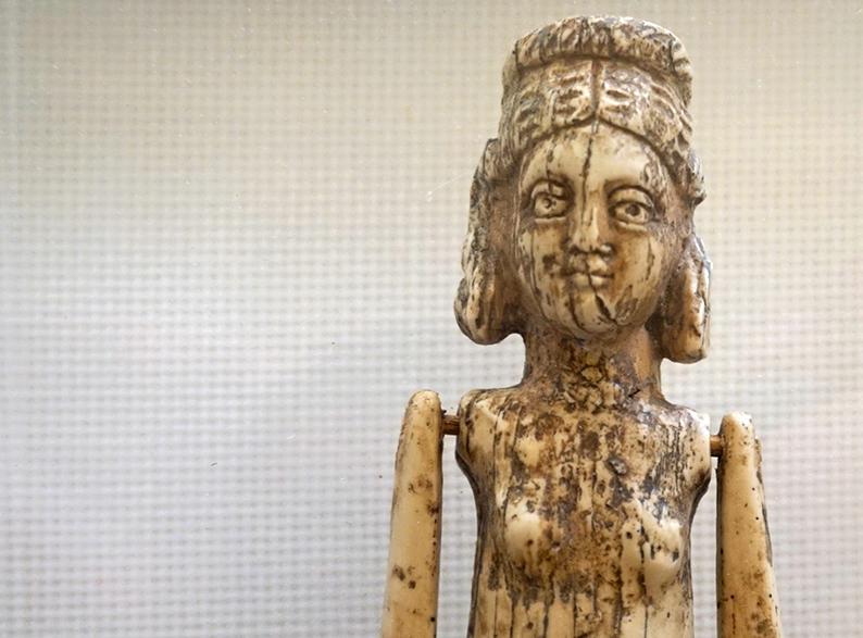 Nina d'ivori. Museu Arqueològic Tarragona