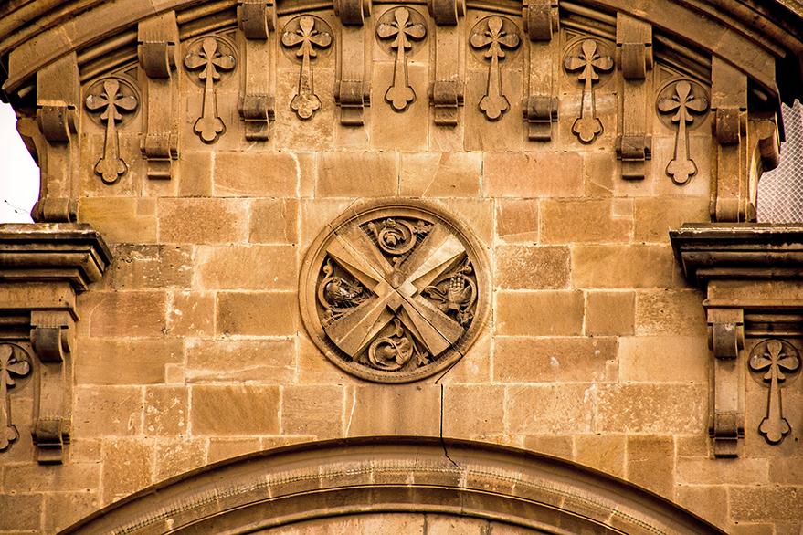 Façana de l'església de Sant Andreu
