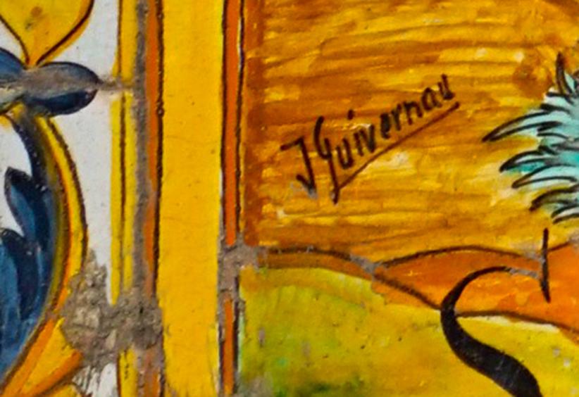 Premià de Dalt. Signatura de Guivernau