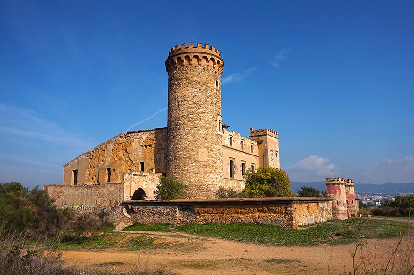 la Torre Salvana. Santa Coloma de Cervelló. Baix Llobregat