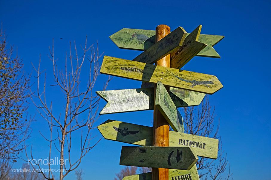 El Gurri. Vic. Osona, mapa de llocs de Rondaller