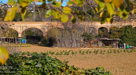 Aqüeducte Can Clota. Esplugues de Llobregat. Baix Llobregat