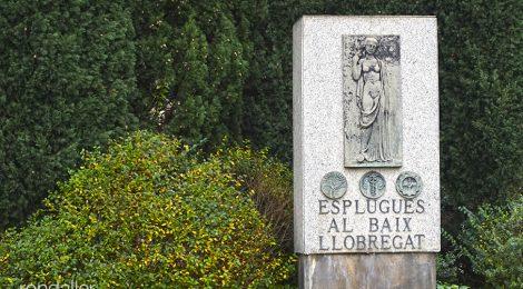Esplugues de Llobregat. Monument al Baix Llobregat