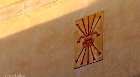 Símbols franquistes. Mataró. Maresme