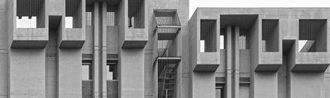 Les Torres Symbol a Esplugues de Llobregat, un exemple d'arquitectura brutalista dels anys 70