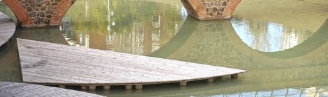 Aqüeducte de Dosrius. Parc Central. Nou Barris. Barcelona