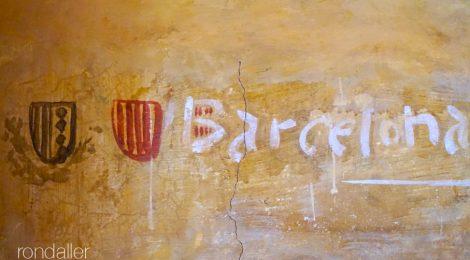 Escut. Monestir Pedralbes. Les Corts. Barcelona