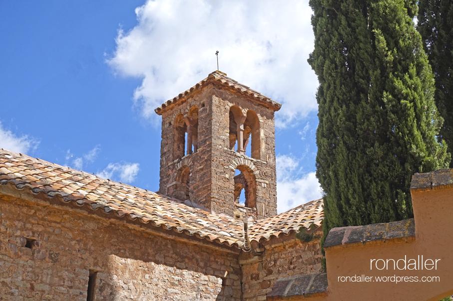 Campanar de Sant Sebastià de Montmajor. Caldes de Montbui. Vallès Oriental