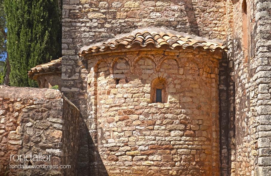Absis de Sant Sebastià de Montmajor. Caldes de Montbui. Vallès Oriental