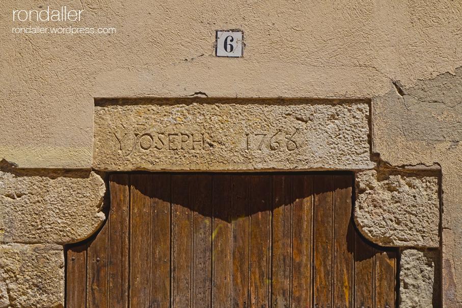 Centelles Osona dentell data inscripció