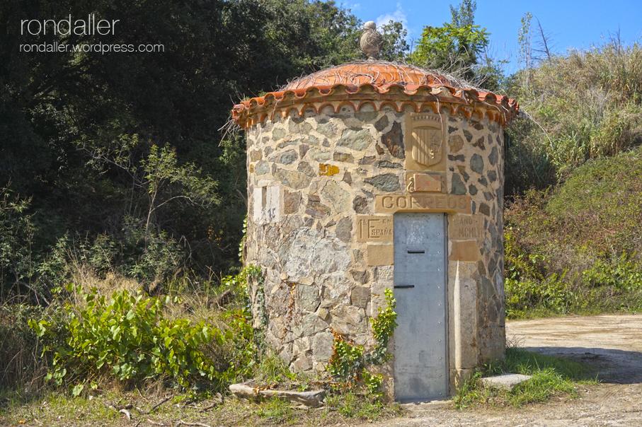 els 10 articles més llegits el 2020. La primera estafeta rural de correus a Mataró.